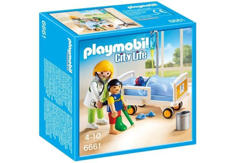 Playmobil - Child's Hospital Room - 6661 - Bunyip Toys - 1