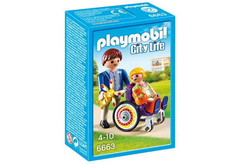 Playmobil - Child in Wheelchair - 6663 - Bunyip Toys - 1
