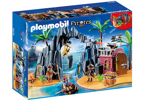 Playmobil - Pirate Island - 6679 - Bunyip Toys - 1