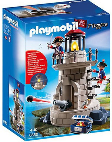 Playmobil - Soldiers' Lighthouse - 6680 - Bunyip Toys - 1
