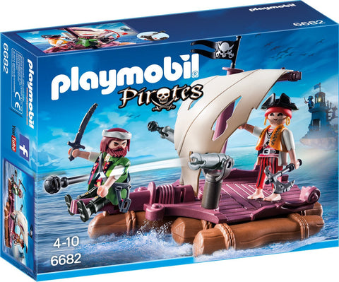 Playmobil - Pirate Raft - 6682 - Bunyip Toys - 1