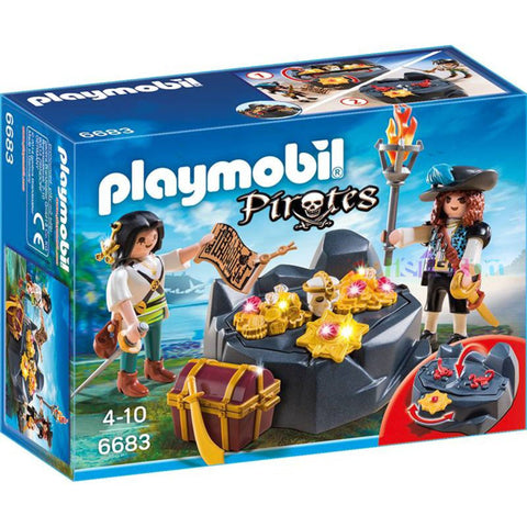 Playmobil - Pirate Treasure - 6683 - Bunyip Toys - 1