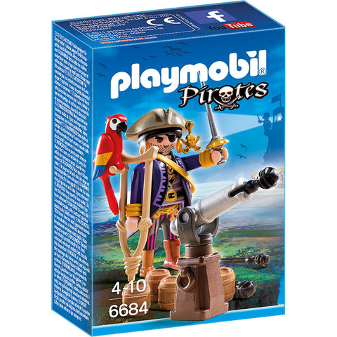 Playmobil - Pirate Captain - 6684 - Bunyip Toys - 1