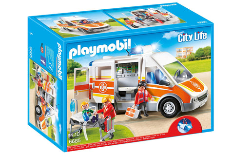 Playmobil - Ambulance - 6685 - Bunyip Toys - 1