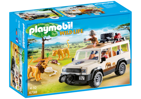 Playmobil - Photo Safari SUV - 6798 - Bunyip Toys - 1