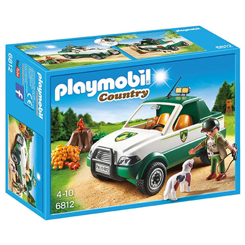 Playmobil - Forest Ranger SUV - 6812 - Bunyip Toys - 1