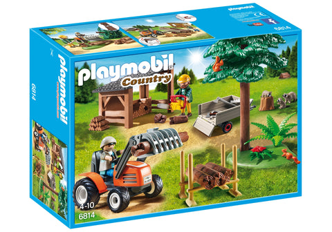 Playmobil - Forestry Crew - 6814 - Bunyip Toys - 1