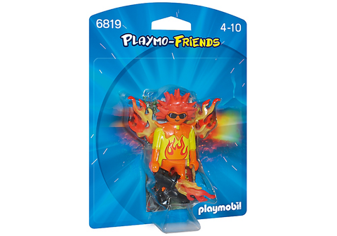 Playmobil - Flamiac Fire Warrior - 6819 - Bunyip Toys