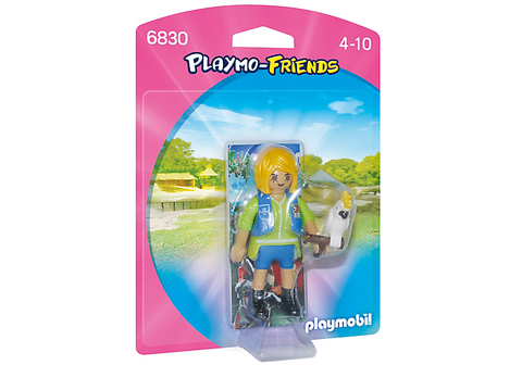 Playmobil - Bird Trainer with Cockatoo - 6830 - Bunyip Toys