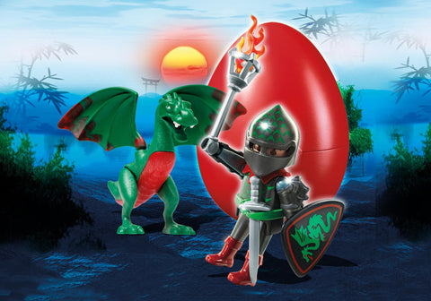 Playmobil - Knight with Young Dragon Easter Egg - 6836