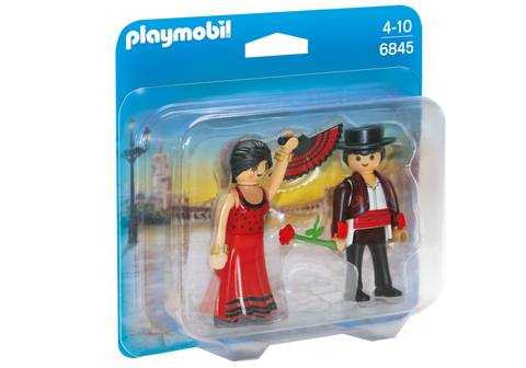 Playmobil - Flamenco Dancers - 6845 - Bunyip Toys - 1
