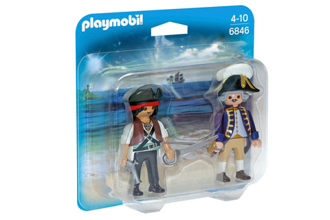 Playmobil - Navy Captain and Pirate - 6846 - Bunyip Toys - 1