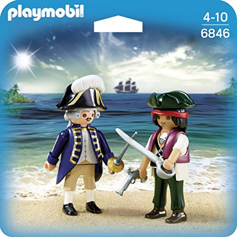 Playmobil - Royal Navy Captain and Pirate - 6846 - Bunyip Toys