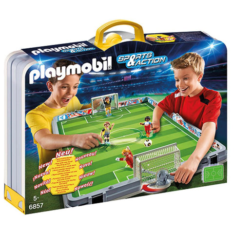Playmobil - Takealong Soccer Match - 6857 - Bunyip Toys - 1