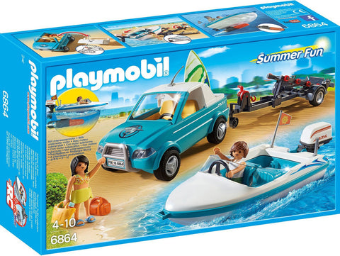 Playmobil - Speedboat with Motor - 6864 - Bunyip Toys - 1