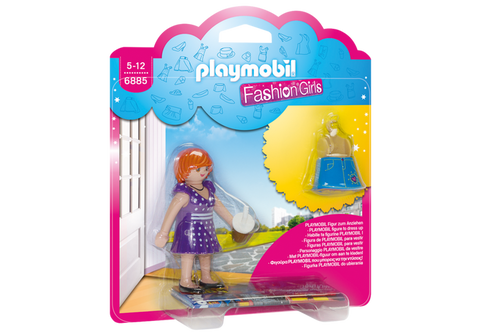 Playmobil - Fashion Girl (Spotted Dress) - 6885 - Bunyip Toys - 1