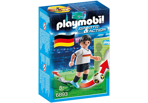 Playmobil - German Soccer Player - 6893 - Bunyip Toys
