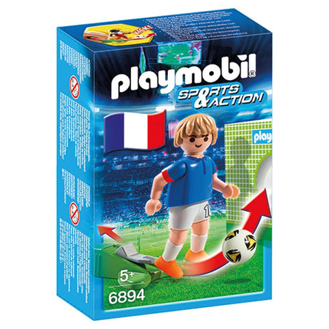 Playmobil - French Soccer Player - 6894 - Bunyip Toys