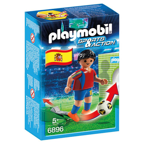 Playmobil - Spanish Soccer Player - 6896 - Bunyip Toys