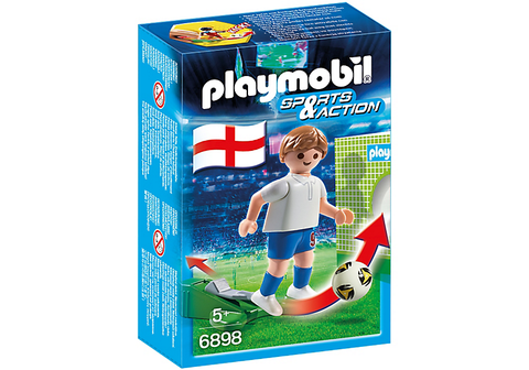 Playmobil - English Soccer Player - 6898 - Bunyip Toys