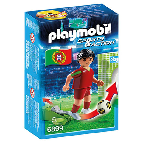 Playmobil - Portuguese Soccer Player - 6899 - Bunyip Toys