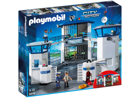 Playmobil - Police Station with Prison - 6919