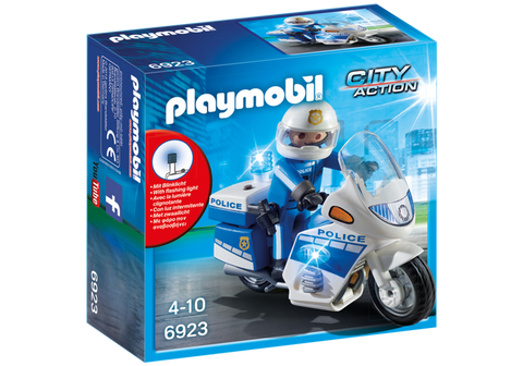Playmobil - Police Motorcycle - 6923