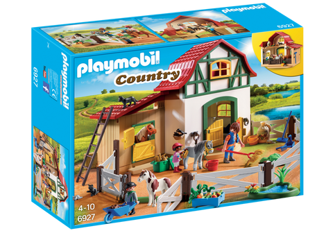 Playmobil - Pony Farm Stables - 6927 - Bunyip Toys - 1