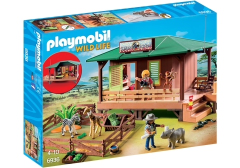 Playmobil - Safari Station - 6936 - Bunyip Toys - 1