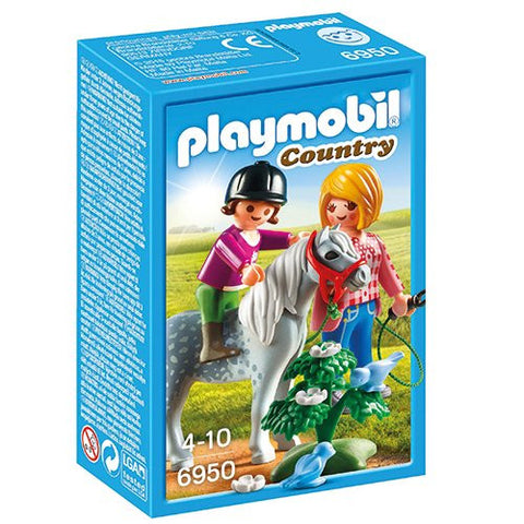 Playmobil - Pony Ride - 6950 - Bunyip Toys - 1