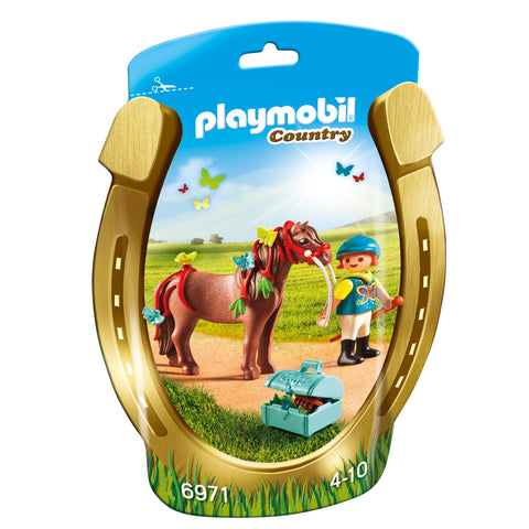 Playmobil - Girl with Butterfly Pony - 6971 - Bunyip Toys