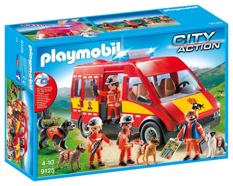 Playmobil - Dog Rescue Search Teams - 9125 - Bunyip Toys - 1