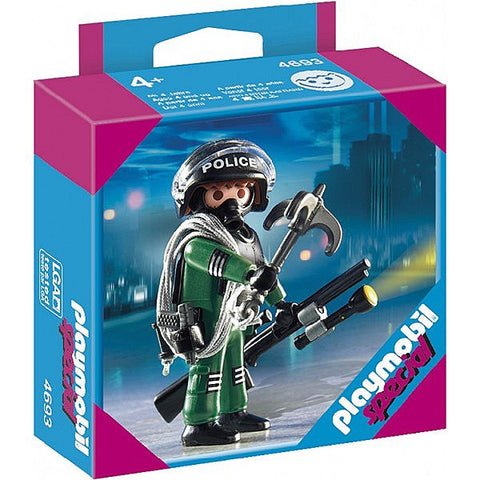 Playmobil - Police Special Operations Officer - 4693 - Bunyip Toys