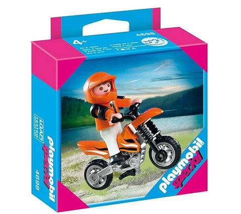 Playmobil - Child Motocross Rider - 4698 - Bunyip Toys