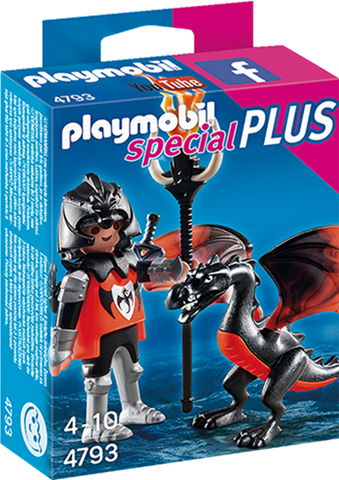 Playmobil - Knight with Dragon - 4793 - Bunyip Toys