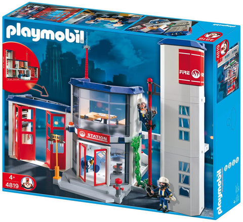 Playmobil - Fire Station - 4819 - Bunyip Toys - 1