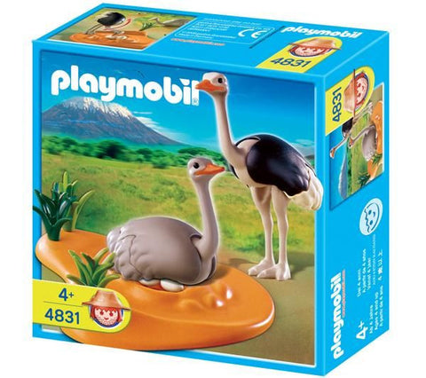 Playmobil - Ostriches - 4831 - Bunyip Toys - 1