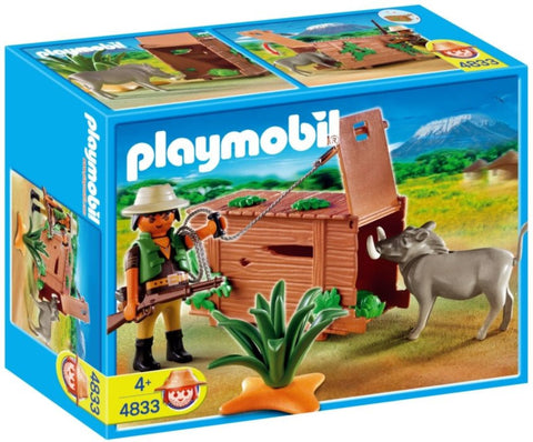 Playmobil - Poacher and Trap - 4833 - Bunyip Toys - 1