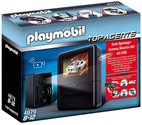 Playmobil - Spy Camera Set - 4879 - Bunyip Toys