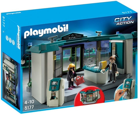 Playmobil - Bank with Robber - 5177 - Bunyip Toys - 1