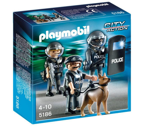 Playmobil - Police Special Unit - 5186 - Bunyip Toys