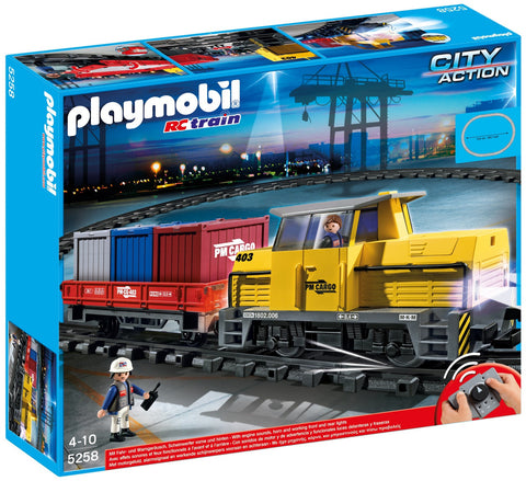 Playmobil - Remote Control Freight Train - 5258 - Bunyip Toys - 1