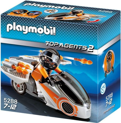 Playmobil - Spy Team Spybike - 5288 - Bunyip Toys - 1