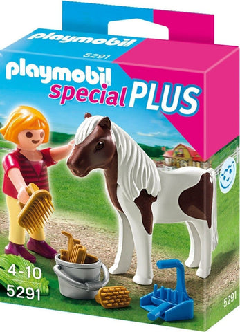 Playmobil - Girl with Pony - 5291 - Bunyip Toys