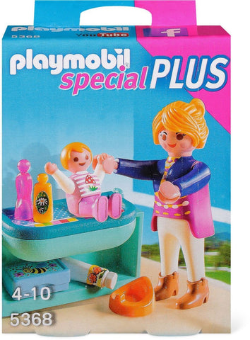 Playmobil - Mother and Changing Table - 5368 - Bunyip Toys