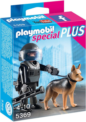 Playmobil - Police Dog Team - 5369 - Bunyip Toys