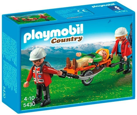 Playmobil - Mountain Rescue Squad - 5430 - Bunyip Toys - 1