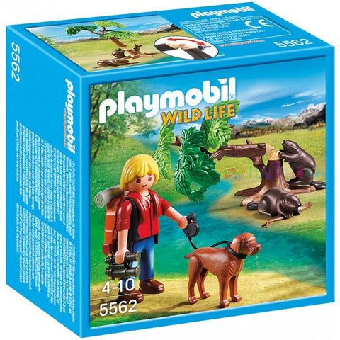 Playmobil -  Naturalist and Beaver Tree - 5562 - Bunyip Toys