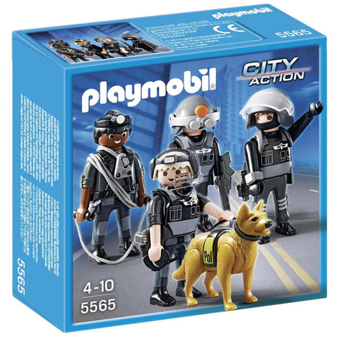 Playmobil - Police Special Team - 5565 - Bunyip Toys - 1