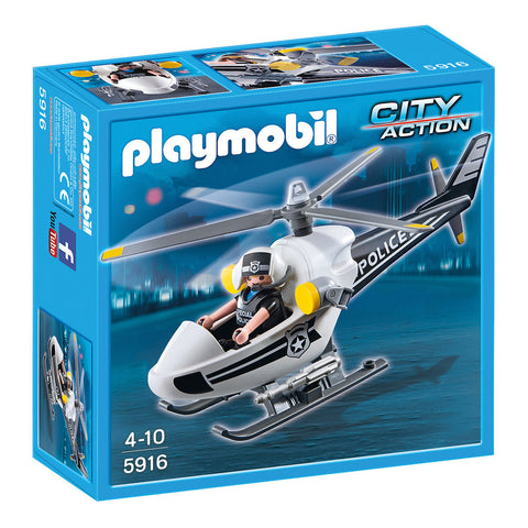 Playmobil - Police Micro Helicopter - 5916 - Bunyip Toys